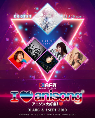 6 Bintang Pop Jepang Akan Meramaikan 2 Hari I Love Anisong Concert Di Anime Festival Asia 2018 Jakar