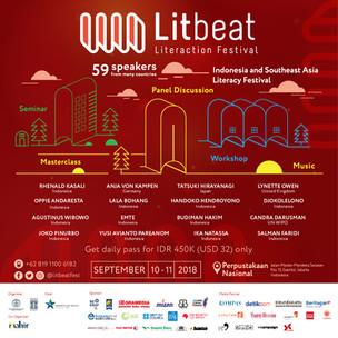 Litbeat Festival 2018 Berbagi Inovasi, Gagasan, dan Strategi Mengembangkan Dunia Perbukuan