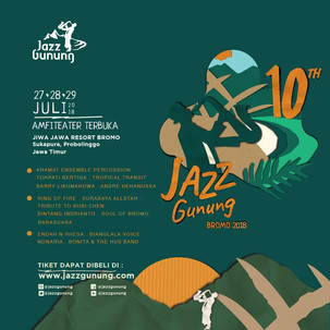 10 Tahun Jazz Gunung Merayakan Keragaman