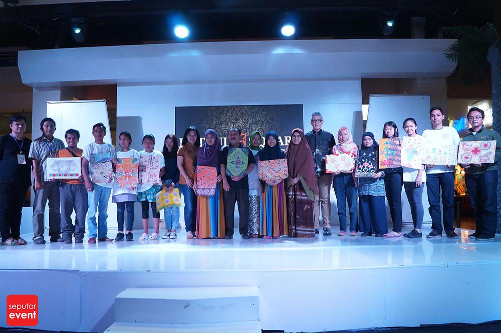 Pre-Event Bogor Fashion Food Festival 2015 Gelar Lomba Desain Motif Batik (11).JPG