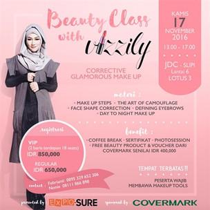 Beauty Class with Vizzily, Corrective Glamorous Make Up