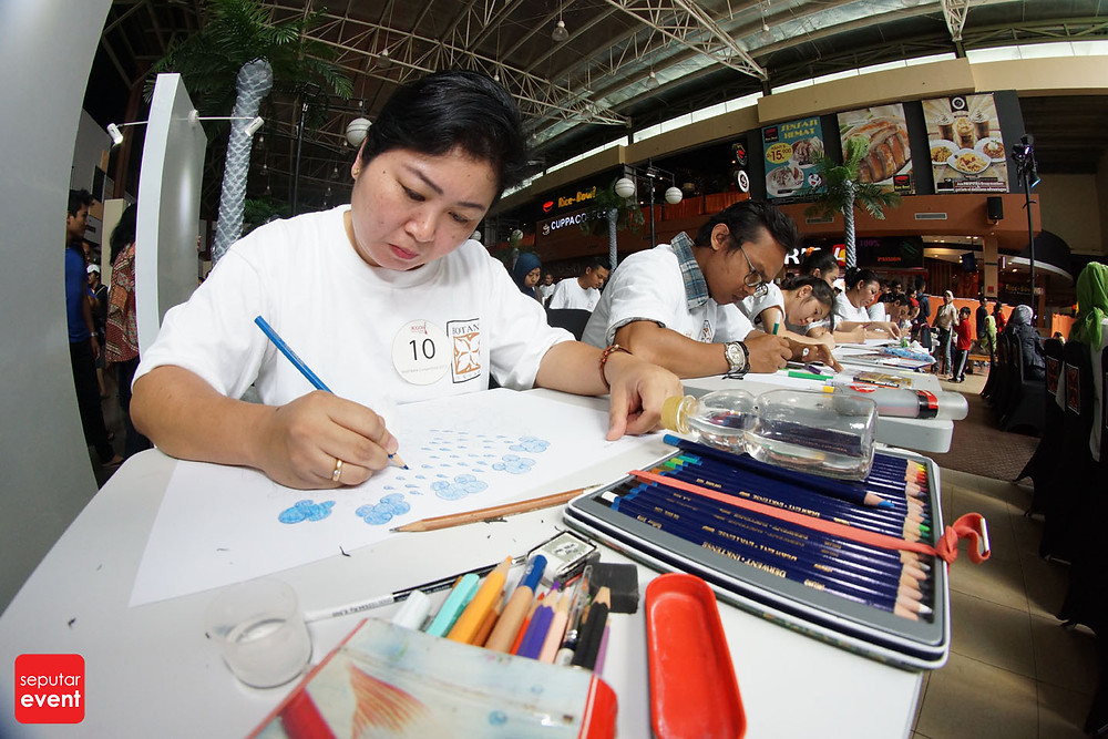 Pre-Event Bogor Fashion Food Festival 2015 Gelar Lomba Desain Motif Batik (1).JPG