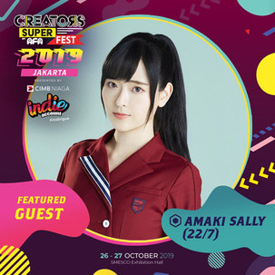 CREATORS SUPER FEST 2019 JAKARTA Featured Guest: Amaki Sally