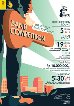 The 39th Jazz Goes To Campus Band Competition is BACK!
