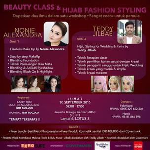Beauty Class & Hijab Fashion Styling