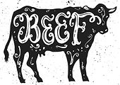 beef-lettering-in-silhouette-vector-7461