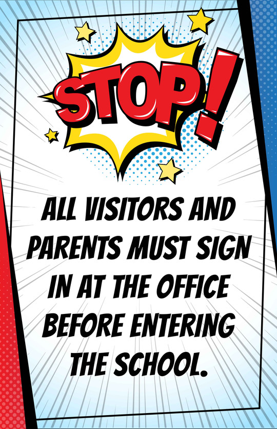 STOP & SIGN POSTERS