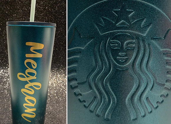 Personalized Starbucks Cup - DJHS Cheer