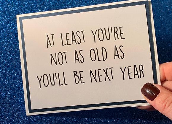 Next Year Snarky Card