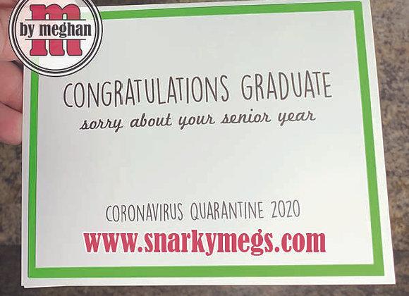 Coronavirus Card - Congrats Grad