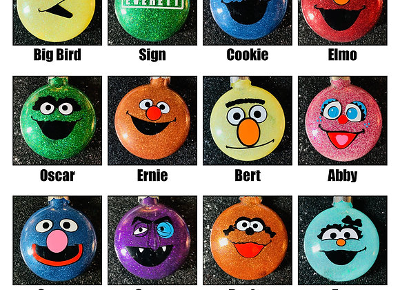 Sesame Street Ornaments