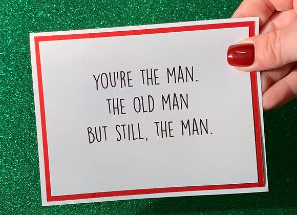 Old Man Snarky Card