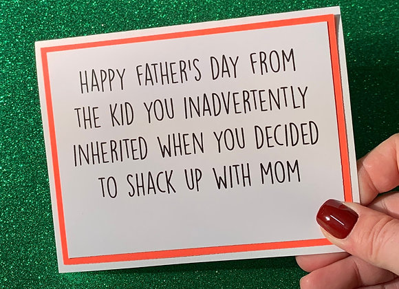 Inherited Kid Snarky Card