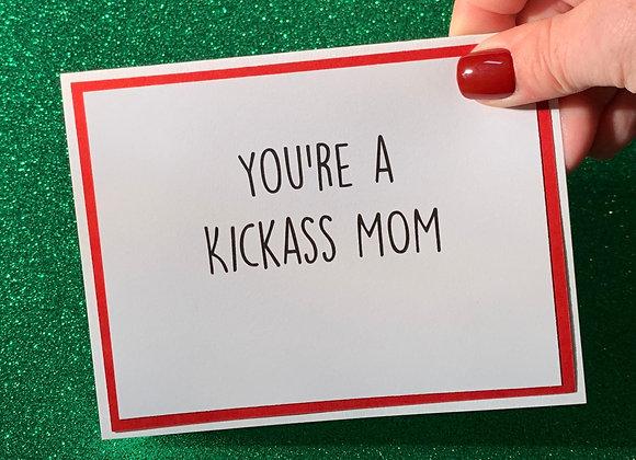 Kickass Snarky Card
