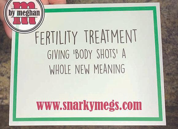 Body Shots Snarky Card