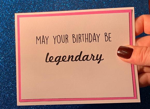 Legendary Snarky Card