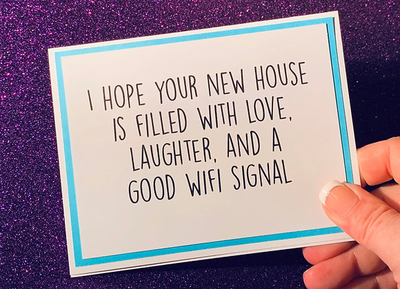 Wifi Snarky Card