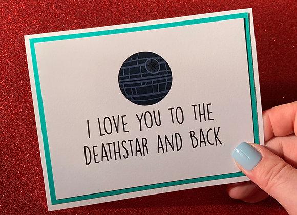 The Deathstar Snarky Card