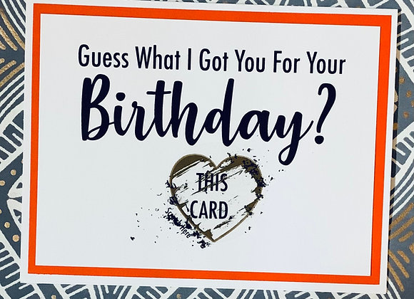 This Card Birthday Scratch Off Snarky Card