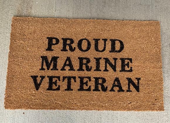 Armed Services Door Mat