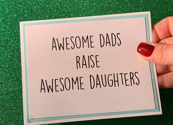 Awesome Dads Snarky Card