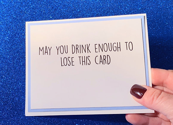 Lose This Snarky Card