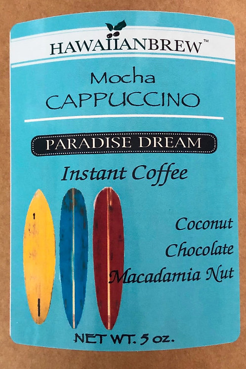 Instant Cappuccino - Only 100 Calorie -99% Caffeine Free