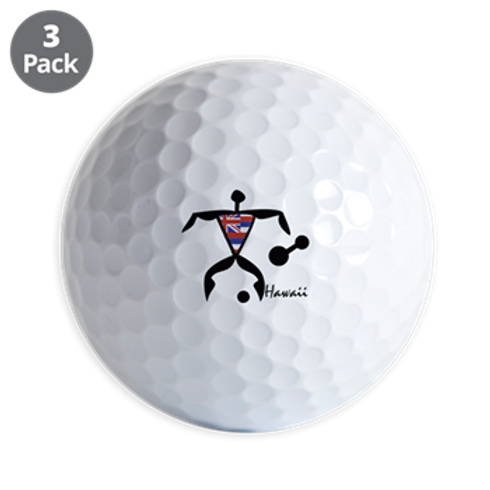 GOLF BALL DANCER - SET OF THREE  OUT OF STOCK