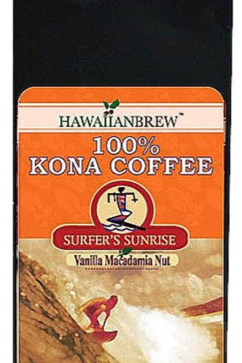 100% Kona Coffee Vanilla Macadamia Nut 7 oz