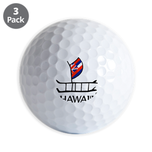 GOLF BALL CANOE - SET OF THREE OUT OF STOCK
