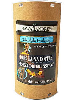 100% Kona Freeze Dried Instant - Single Serve Packets