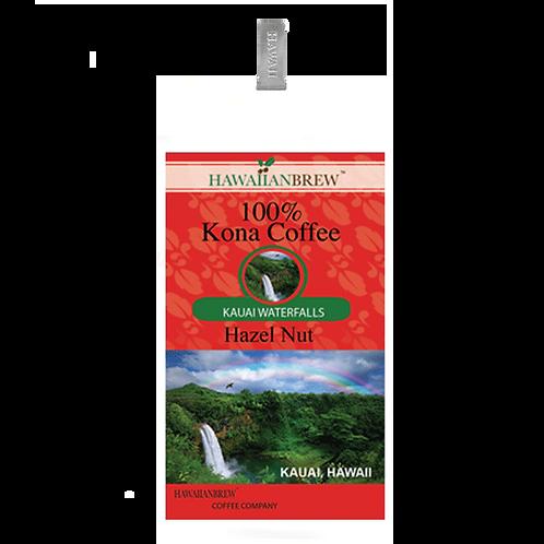 100% Kona Coffee Regular    7 oz Waterfalls, Kauai
