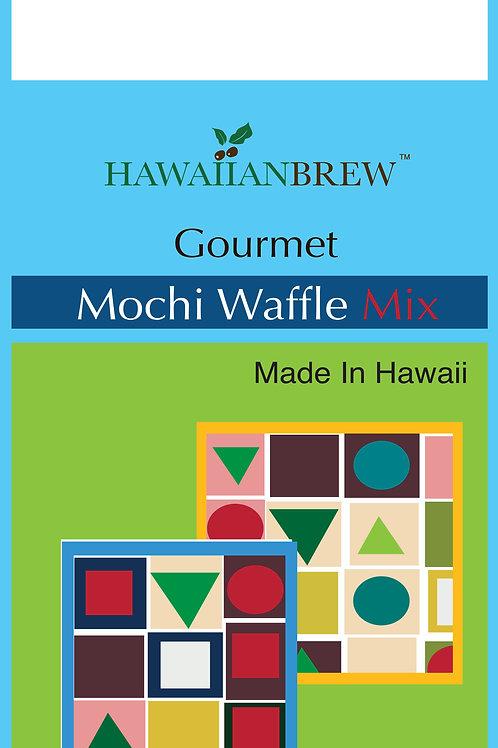 MOCHI WAFFLE MIX Use non stick spray on waffle iron