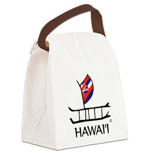 TOTE LUNCH BAG CANOE