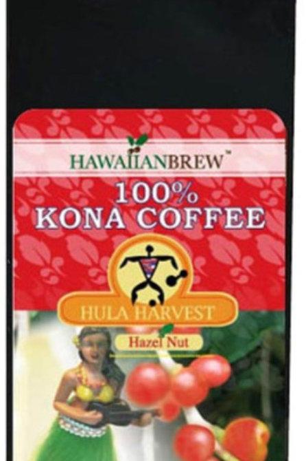 100% Kona Coffee Hazelnut 7 oz