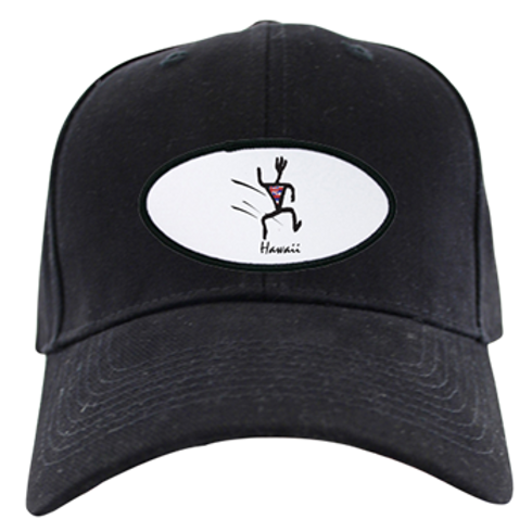 MENS CAP BLACK RUNNER
