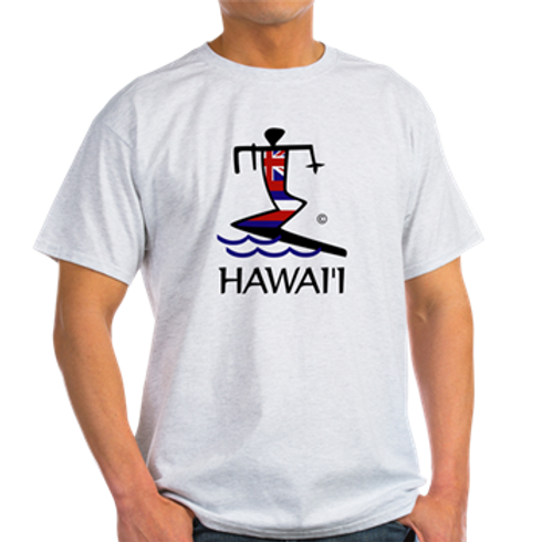 MENS CLASSIC T-SHIRT SURFER