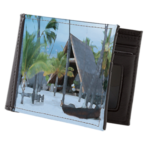 WALLET HUT - LEATHER