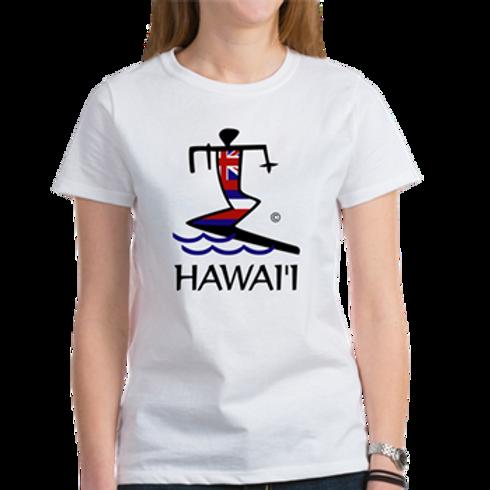 WOMENS CLASSIC T-SHIRT SURFER - S,M,L,XL Choose at Checkout.