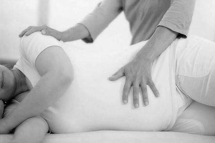 massage grossesse à domicile | Landerneau