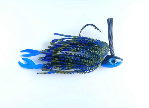 Rubber Jig Blue 12 g