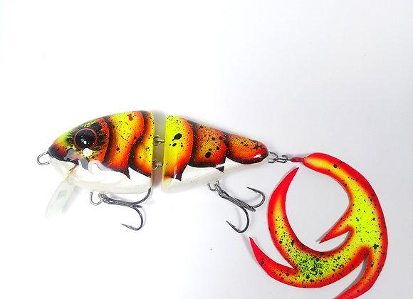 Crayfish Swim Fire UV