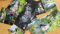 Fotografije za razglednice Predjamskega gradu - Postojnska jama d.d. - Postojna
