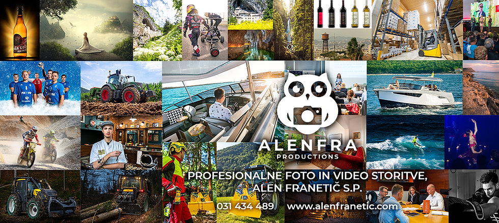 Alenfra Productions - Profesionalne foto in video storitve, Alen Franetič s.p.
