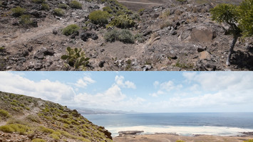 Gran Canaria - before after