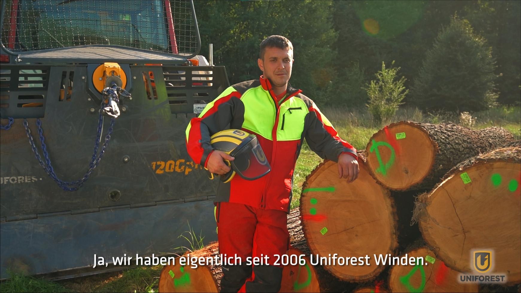 Testimonial video s podnapisi v 4 jezikih - nemščina