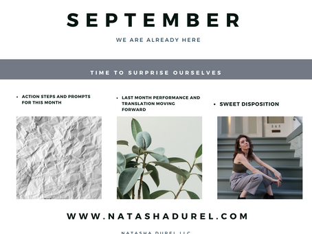 Your September Action Plan