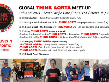 Think Aorta Global Meet-Up April 18th 3pm EST