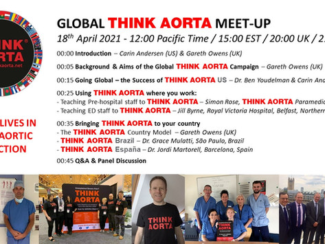 Think Aorta Global Meet-Up April 18th 3pm EST
