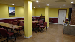 Seating and Bar Area